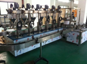 6 Heads Automatic Powder Bottle Filler Capper pictures & photos