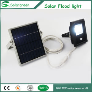 10W Constant Lighting High Brightness Solar Yard Lawn Spot Flood Light pictures & photos