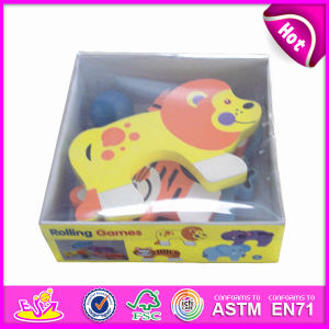 2014 New Kids Wooden Animal in Box, Popualr Cute Children Animal in Box, Lovely Baby Wooden Animal in Box Puzzle Games W13e031 pictures & photos