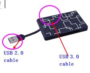USB 3.0&2.0 All in One Card Reader pictures & photos