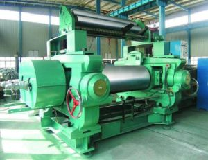 Xk560 Rubber Mixing Mill with Automatic Stock Blender Gap Control pictures & photos