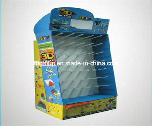 High Quality Cardboard Paper Shelf Display pictures & photos
