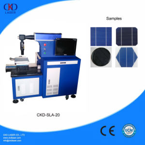 20W Air Cooling Fiber Laser Solar Cell Cutting Machine pictures & photos