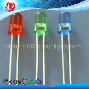 5mm Beauty Green Blue High Brightness Water Clear LED pictures & photos