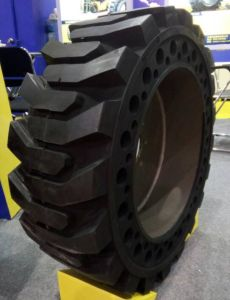 Bias Nylon Industrial Tire OTR Tire Forklift Solid Tire 205/70-16 26*9-15 pictures & photos