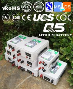 12V60AH Industrial Lithium batteries Lithium LiFePO4 Li(NiCoMn)O2 Polymer Lithium-Ion Rechargeable or Customized pictures & photos