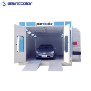Economical High Efficiency Down Draft Spray Booth (PC06-100) pictures & photos