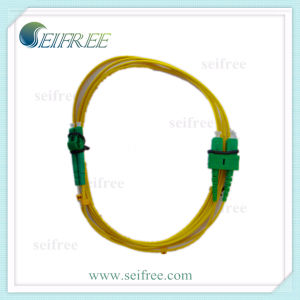 Sc LC APC Fiber Optic Cable Patch Cord (FTTH Network) pictures & photos