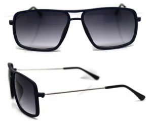 Plastic Front with Stainless Steel Temples Kids Sunglasses (XZ034) pictures & photos