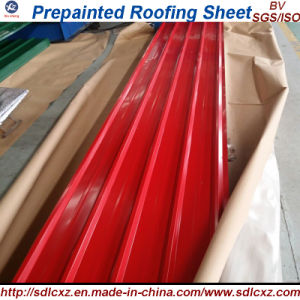 (0.13mm-1.3mm) Pre-Painted Galvanized Steel Coil for Roofing Sheet pictures & photos