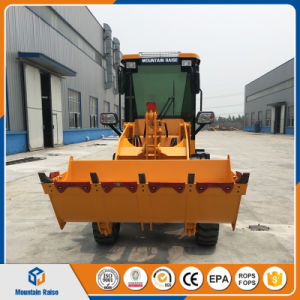 Made in China 1000kg 4W Mini Wheel Loader for Farm pictures & photos