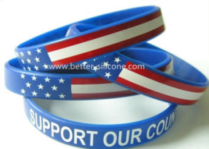 Promotion Gifts Silicone Rubber Wristband pictures & photos