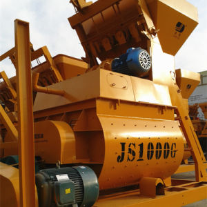 New Type Js1000II Twin Shaft Concrete Mixer pictures & photos