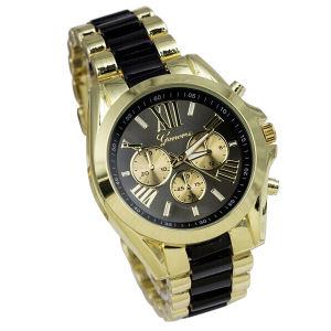 Fashion Japan Quartz Chronograph Steel Wrist Band Watch (XM9003)