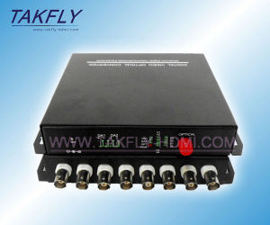 RS232/485/422 Data Optional 1/2/4/8/16/32 Channel Optical Video Transceiver/HDMI Video Optical Converter pictures & photos