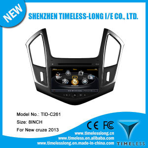 Car DVD for Chevrolet Cruze 2013 with Built-in GPS A8 Chipset RDS Bt 3G/WiFi DSP Radio 20 Dics Momery (TID-C261)