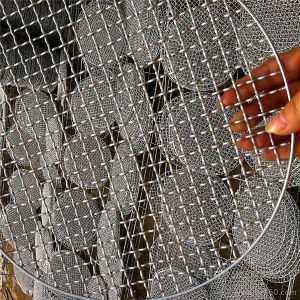 Galvanized Barbecue Grill Wire Mesh/BBQ Grill Netting Price (factory) pictures & photos