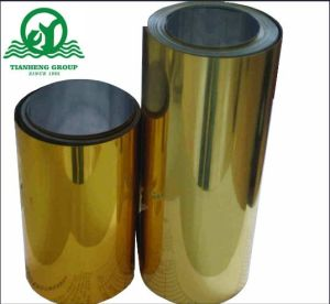 Metallized PVC Film with Gold and Silver for Buscuit Tray pictures & photos