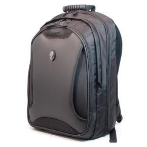 Unisex 17.5 Inch Laptop Notebook Shoulder Bag Black Business Backpack Rucksack Outdoor Travel Computer Case pictures & photos