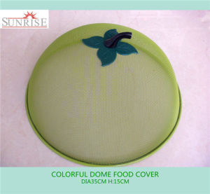 Green Color Iron Metal Food Cover (YC015)