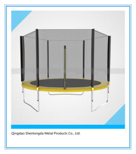 10FT 1.2mm Frame with Half Pole and Inner Safety Enclosure Trampoline pictures & photos