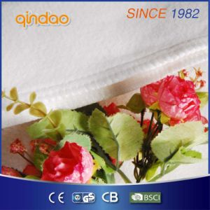 Soft Comfortable Fleece Heating Blanket with Ce pictures & photos