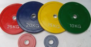 Olympic Rubber Weight Plate (usnv82143) pictures & photos