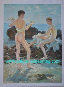 Oil Painting, Children Oil Painting, Handmade Oil Painting