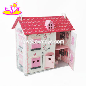 New Hottest Children Miniatures Wooden Dolls Houses with Furniture W06A256 pictures & photos