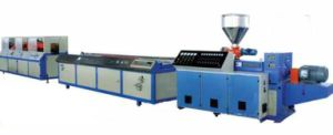WPC (Wood and Plastic) Decorative Material Production Line