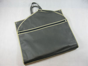 Manufacturer PP Non Woven Garment Bag with Handle (MECO238) pictures & photos