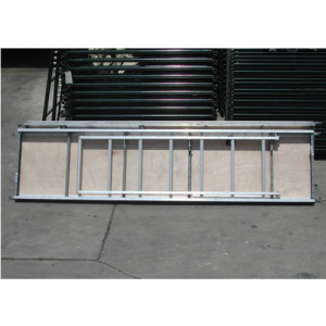 Aluminum/Plywood Plank with Trapdoor and Ladder for Scaffolding pictures & photos