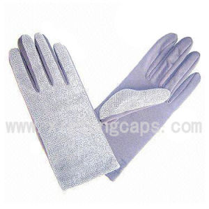 Fleece Gloves with One Side Printing (JRG016) pictures & photos