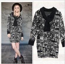 Women′s Spring Dress Coat, Fashion Dress