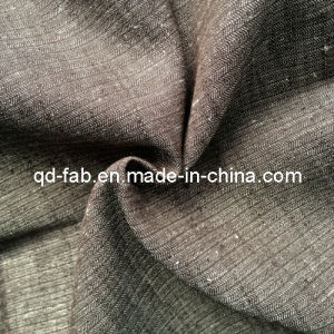Cotton Linen Yarn Dyed Fabric (QF13-0739) pictures & photos