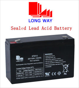 Power Toys UPS Sealed Lead Acid Battery 6V10ah pictures & photos