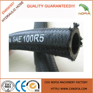 Industrial Steel Wire Braided Hydraulic Hose (R5)