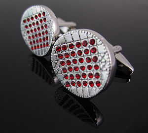 Crystal Cufflinks pictures & photos