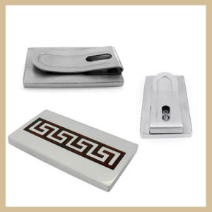 Men′s Stainless Steel Money Clip (TPMC101)