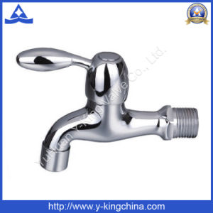 Brass Chromed Plated Bibcock Water Tap (YD-2022) pictures & photos
