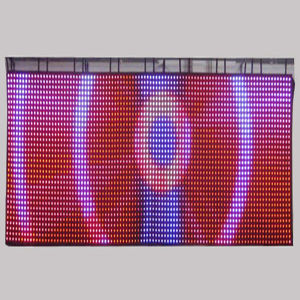 IP65 Outdoor Transparent Flexible LED Curtain Display Screen pictures & photos