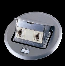 Floor Socket Double Tel Socket pictures & photos