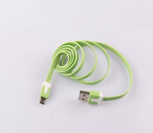 Universal Colorful Flat Noondle Style USB Cable for Huawei Lccb-064 pictures & photos
