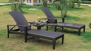 Garden Furniture/Outdoor Furniture/Rattan Furniture/Wicker Furniture Chaise Lounger (5003) pictures & photos