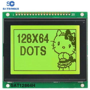 Better Graphic Type Stn 12864 Dots LCD Module (Size: 93*54mm)