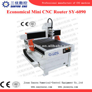 Mini 4 Axis CNC Router Sy-6090