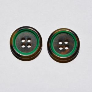 White Brown Plastic Button for Man and Woman Clothing pictures & photos