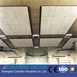 Conference Room Used Soundproof Material Wood Wool Acoustic Panel pictures & photos