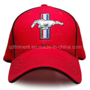 Stretchable Full Size Cotton Twill Embroidery Baseball Cap (TRB047) pictures & photos
