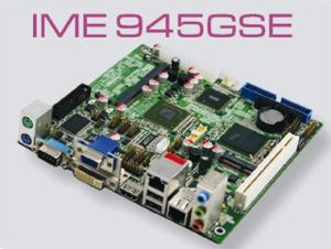 ITX 17x17 Mainboard ATOM N270 945GSE CPU, Fanless pictures & photos